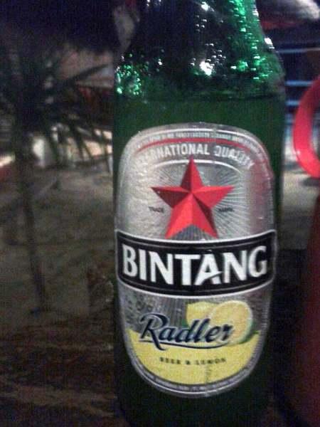 Bintang Bier auf Gili Trawangan, Indonesien