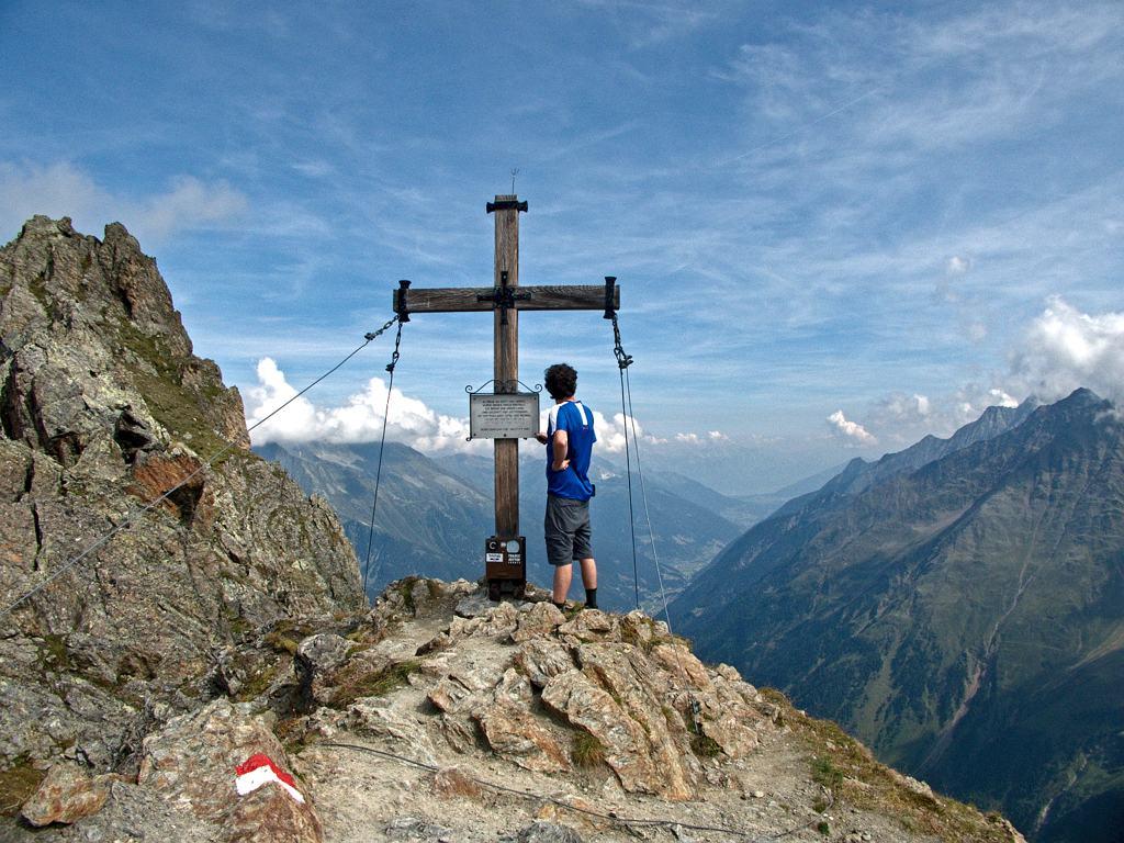 Gipfelkreuz Mairspitze