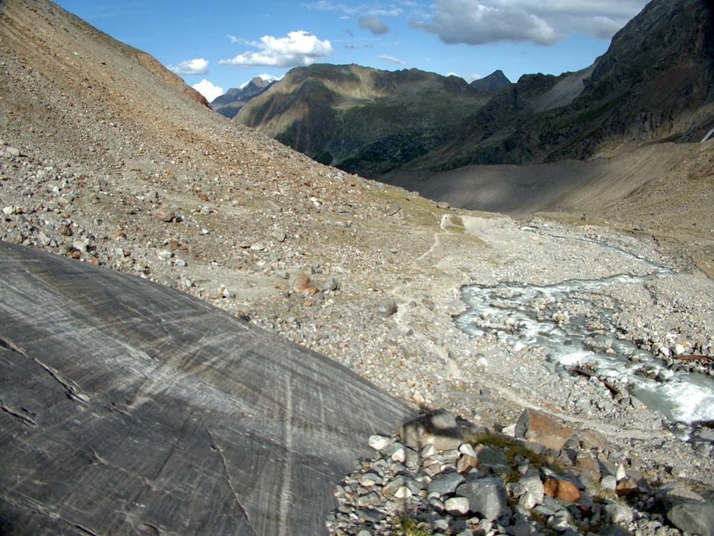 Gletscherschliff Sulzenauhütte