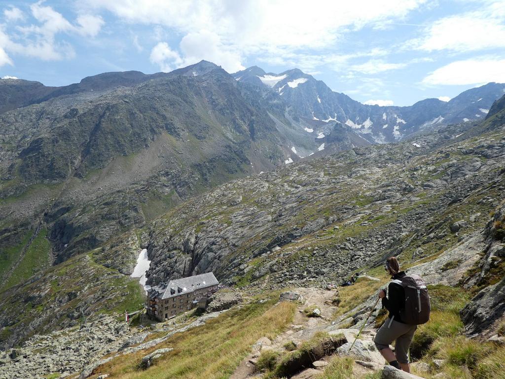 Wandern zur Nürnberger Hütte in Tirol