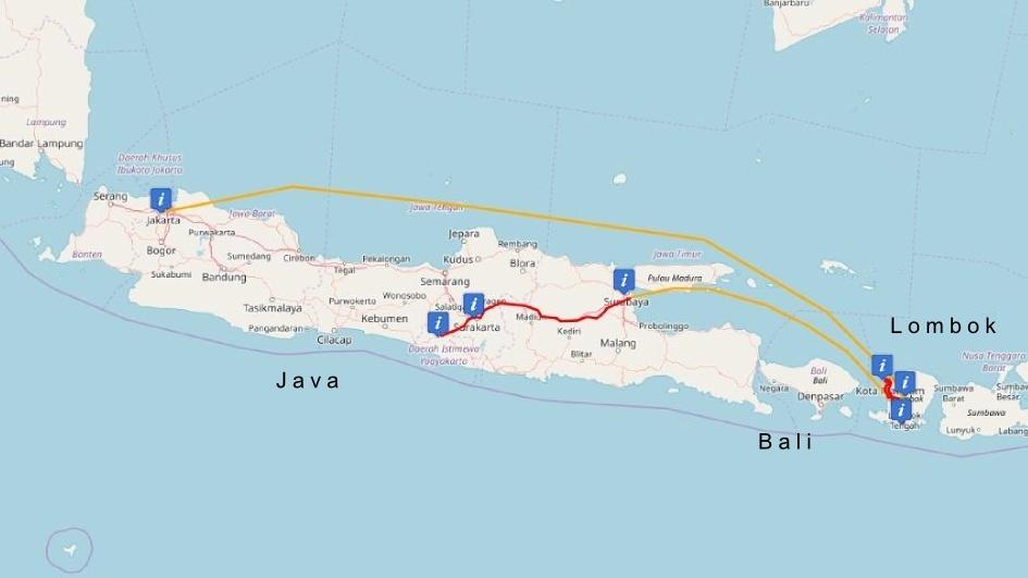 Indonesien: Unsere Rundreise durch Java, Lombok und Jakarta