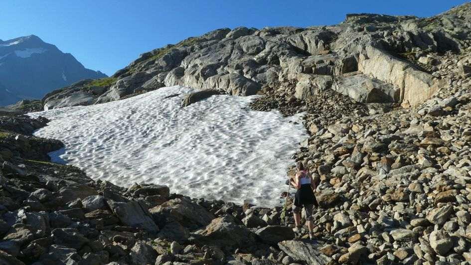 Schneefeld Stubaier Höhenweg