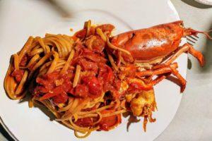 Lobster mit Pasta im Biagio Pignatta