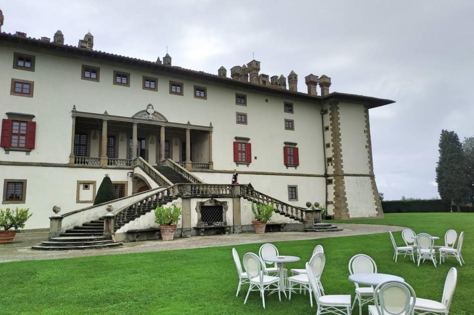 Medici Villa La Ferdinandi bei Artimino in der Toscana