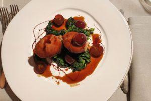 Schweinefillet im Restaurant Biagio Pignatta