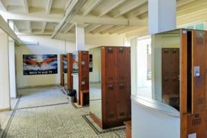 Umkleidekabinen im Schoenbrunnerbad